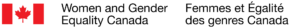 The Women and Gender Equality Canada Logo